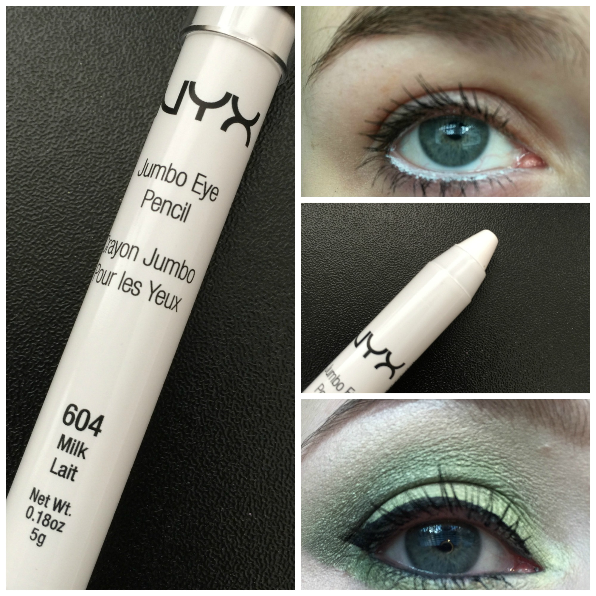 Review NYX Jumbo Eye Pencil In Milk